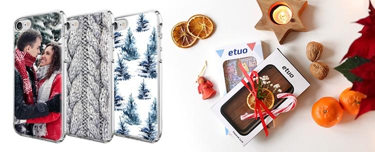 puzdrá pre mobily - zbierka Vianočné