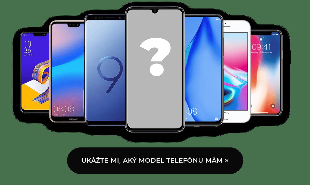 Aký model telefónu mám?